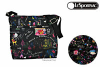 LeSportsac Wonderland Small Cleo Crossbody Handbag Free Ship NWT Disney Style