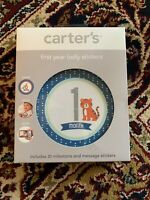 Carters First Year Baby Belly Stickers 20 Milestone Message Monthly Photos