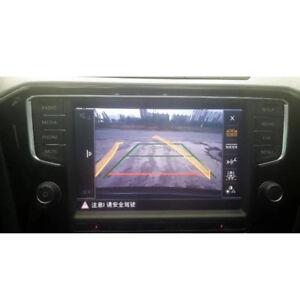 For Tiguan Touran SUPERB Octavia 2017 MQB Reverse Parking Camera With track