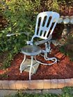 Antique Industrial Art Deco 20's-30's Medical Dental Adjustable Chair, Tattoo