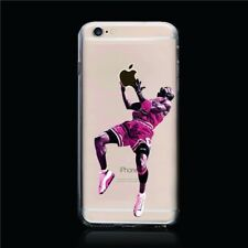"COQUE IPHONE 6 6S PLUS (5""5) JORDAN BASKET BALL SPORT SILICONE SOUPLE (TPU)"