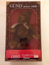 Gund Collector's Bear. Year 1995. In box in excellent condition
