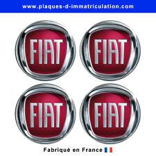 sticker Fiat pour cache moyeu de jante (lot de 4)