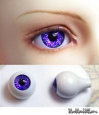 1/3 1/4 1/6 bjd 16mm acrylic doll eyes glitter purple full eyeball dollfie AE-47