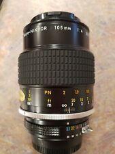 New listing Nikon Micro-Nikkor 105Mm F/4 Ai-s