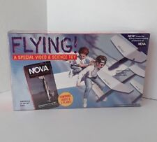 FLYING! NOVA/PBS - Daredevils Of Sky VHS Video & WHITEWINGS Airplane Kit - NIB!