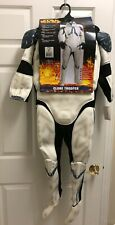 Rubies Star Wars Classic Child's Deluxe Clone Trooper Costume with Mask MEDIUM