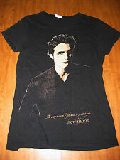 TWILIGHT juniors small T shirt NEW MOON tee Stephenie Meyer Edward quote Reason