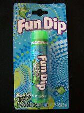 .15 Oz. Fun Dip RazzApple Magic Dip Flavored Lip Balm In Tube, NEW IN PACKAGE!!