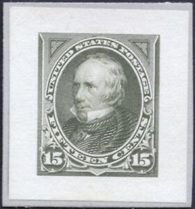 #284P2 SMALL DIE PROOF ON WHITE WOVE PAPER, XF-SUPERB CV $375.00 BP4050