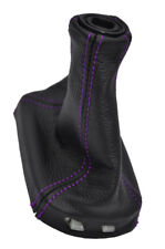 FITS CHEVROLET COBALT LS LT LEATHER SHIFT BOOT purple stitch