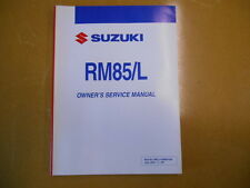 2005 SUZUKI RM85L RM85 Factory Owners Service Manual