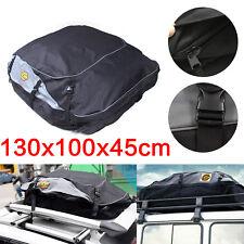 Universal Waterproof Car Roof Top Rack Bag Carrier Cargo 4WD Luggage Travel AU