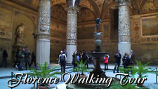 FLORENCE ITALY WALKING TOUR TREADMILL WALK SCENERY DVD VIDEO EXERCISE FITNESS