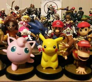 Amiibo Super Smash Bros. Figures Nintendo Complete Your Collection Free Shipping
