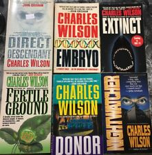 Lot Of 6 Charles Wilson Paperbacks