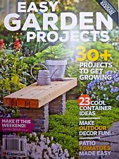 Better Homes And Gardens Easy Garden Projects Magazine Summer 2017