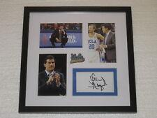 Steve Alford Signed Floorpiece Framed Ucla Bruins Coa Autograph