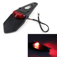 LED Rear Fender Brake Tail Light For Dirt Bike Dual Sport Motocross Off-Road A05