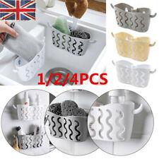 Kitchen Bathroom Sponge Sink Tidy Holder Storage Rack Suction Strainer Organizer