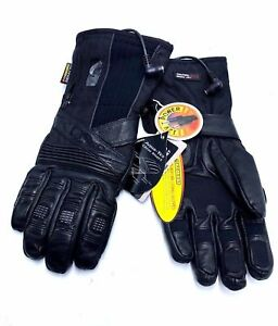 Gerbing's Heated Clothing T5 Hybrid 12V DC Heated Gloves Women's Black Leather