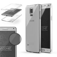 Samsung Galaxy Note 4  TPU Case 360 Grad Schutz Hülle Etui Cover Touch Case