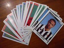 SET COMPLETO 32 FIGURINE AGGIORNAMENTI PANINI CALCIATORI 1998-1999 98-99