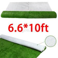 6.6x10FT Artificial Grass Carpet Fake Synthetic Garden Landscape Lawn Mat Turf