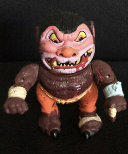 Vintage 1986 MADBALLS Head Popping Poppers WOLF BREATH figure WOLFMAN toy WORKS