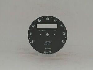 Speedometer Inner Dial Face Smiths Fits Austin Mini 850 Super Deluxe & 1000