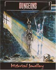 Skeleton Pendant  -  Pewter Gothic Pendant