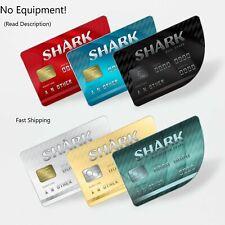 Gta V Money Shark Card 1M Ps4 Only(Read Description) Fast Shipping!