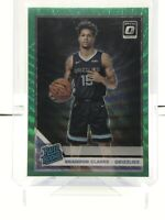 2019-20 Donruss Optic Brandon Clarke Rated Rookie Green Wave Fanatics Grizzlies