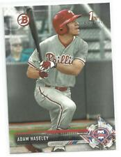 Adam Haseley Philadelphia Phillies 2017 Bowman Draft Baseball