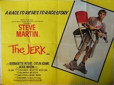 THE JERK 1979 ORIGINAL QUAD POSTER STEVE MARTIN BERNADETTE PETERS CARL REINER