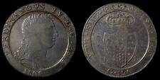 pci772) Napoli regno Ferdinando IV grana 120 piastra 1805 - Var: 5 chiuso HIFR