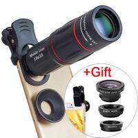18X Telescope Zoom Mobile Phone Lens For IPhone Samsung Smartphones Universal