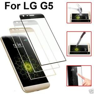 For LG G5 G4 G3 V10 Nexus5 Temper Glass Full Cover Curved Screen Protect&HD Film