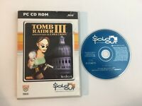 Tomb Raider 3 III Adventures Of Lara Croft PC CD-ROM Game Boxed With Manual