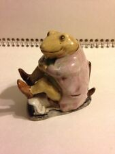 RARE Beatrix Potter Mr. Jackson Figurine Beswick BP-3b Error Reverse Backstamp
