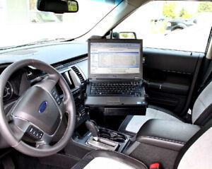 RAM No-Drill Laptop Mount: 2013-2018 Taurus,  2013-2017 Ford Police Interceptor