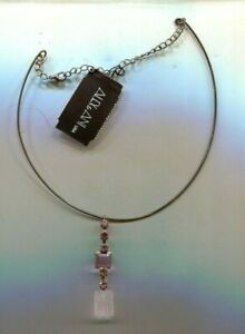 ALEX AND ANI PINK SILVER NECKLACE