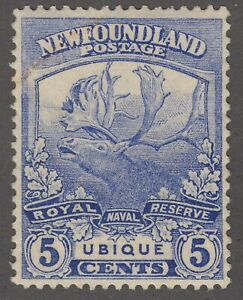 Newfoundland # 119 Mint Never Hinged Very Fine Single