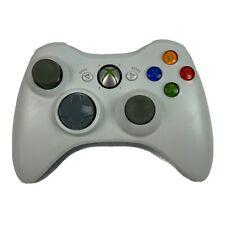 Official Microsoft Xbox 360 WHITE Wireless Controller Genuine Original OEM T
