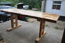 Solid Wood Table Made from reclaimed timber