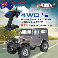 HSP 136100 1/10 Scale Model Vehicle off-road Rock Crawler RC Car 2.4G Radio DO