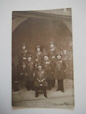 Tower of London Group Yeomen Warders Undress Uniform Old Postcard Gale & Polden