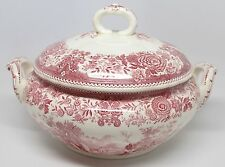Villeroy & Boch - Burgenland Maroon - Small Tureen with Notched Lid - Germany