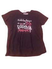 "Women's ""Kinda Busy Being A Baseball Momma� T-Shirt Nwt—Xxxl"