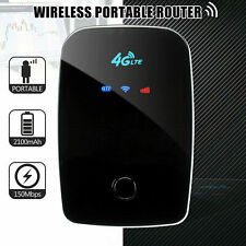 4G WIFI Router UNLOCKED 150Mbps LTE Mobile Broadband Hotspot AT&T SIM Card
